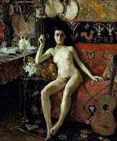 Demasquee, 1888 Fine Art Print