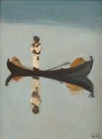 Man Fishing, 1908 Fine Art Print