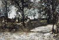 Landscape  Fontainebleau Fine Art Print