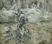 Imatra in Wintertime, 1893 Fine Art Print