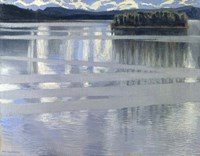 Lake Keitele, 1905 Fine Art Print