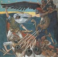 The Defense of the Sampo, 1896 Fine Art Print