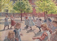 Playing Children, 1907-1908 Fine Art Print
