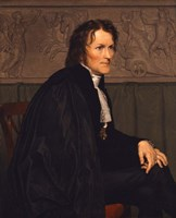 Portrait of the Sculptor Bertel Thorvaldsen (1770-1844), 1838 Fine Art Print