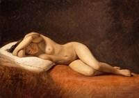 Resting Model, 1839 Fine Art Print