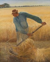 The Harvest, 1885 Fine Art Print