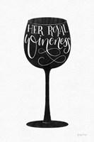 Wineness BW Fine Art Print
