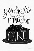 Icing On My Cake BW Fine Art Print