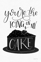Icing On My Cake BW Fine Art Print