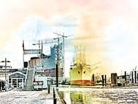 Hamburg Fine Art Print