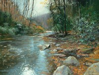 Downstream Fine Art Print