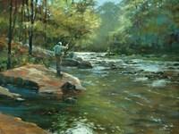 The Fly Fisherman Fine Art Print