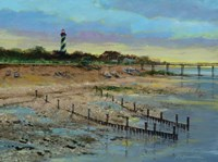 Salt Run Sunset Fine Art Print