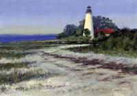 St. Marks Lighthouse Fine Art Print