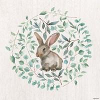 Rabbit Leaves Fine Art Print