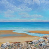 Down to the Sea Fine Art Print