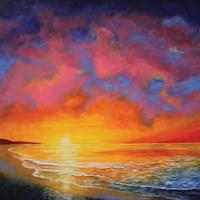 Vivid Sunset Fine Art Print