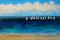 Summer Sailing Fine Art Print