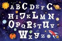 Space Alphabet Fine Art Print