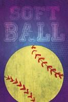 Softball Fine Art Print