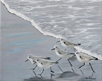 Sand Pipers Fine Art Print