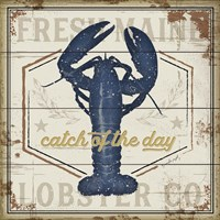 Fresh Maine Lobster Co. Fine Art Print
