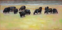 Cows are Out Fine Art Print
