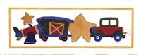 """Transportation II by Carol Robinson - 10"""" x 4"""""""