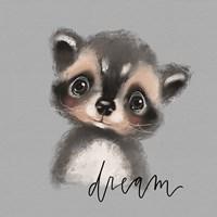 Dream Raccoon Fine Art Print
