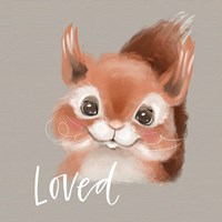 Loved Squirrel Fine Art Print