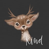 Kind Deer Fine Art Print