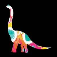 Dino V Framed Print