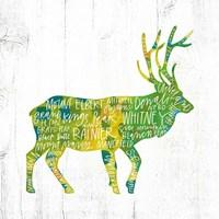 Elk Framed Print