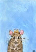 King Mouse Fine Art Print
