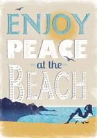 Peace at the Beach Fine Art Print