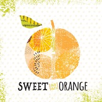 Sweet as Orange Framed Print