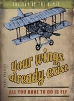 Spread Wings Fine Art Print