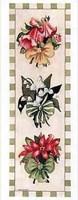 """Ribbon Bouquet I by Carol Robinson - 4"""" x 10"""""""