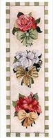 """Ribbon Bouquet II by Carol Robinson - 4"""" x 10"""""""