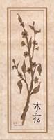 "Tree Blossom by Carol Robinson - 4"" x 10"""