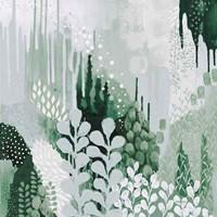 Light Green Forest II Fine Art Print