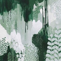 Light Green Forest I Fine Art Print