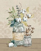 Cotton Bouquet III Fine Art Print