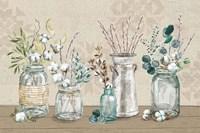 Cotton Bouquet I Fine Art Print