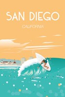 San Diego Fine Art Print