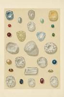 Precious Stones I Fine Art Print