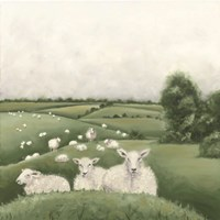 Down on the Farm II Fine Art Print