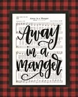 Away in a Manger Fine Art Print