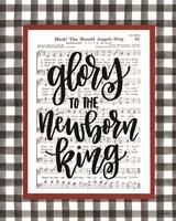 Glory to the Newborn King Fine Art Print