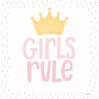 Girls Rule Fine Art Print